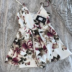 Fashion Nova Floral Romper